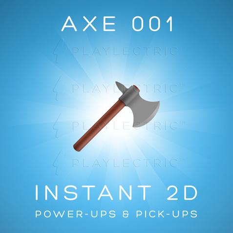 Instant 2D - Power-Ups & Pick-Ups - Glow - Axe 001
