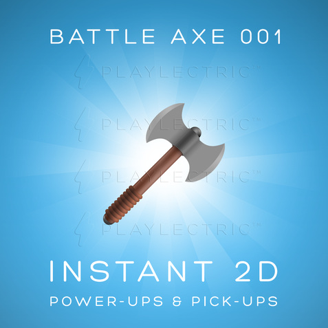 Preview of Instant 2D - Glow - BattleAxe 001