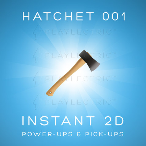 Instant 2D - Power-Ups & Pick-Ups - Glow - Hatchet 001
