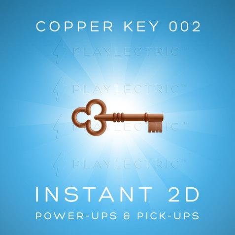 Instant 2D - Power-Ups & Pick-Ups - Glow - Copper Key 002