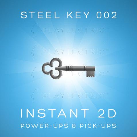 Instant 2D - Power-Ups & Pick-Ups - Glow - Steel Key 002