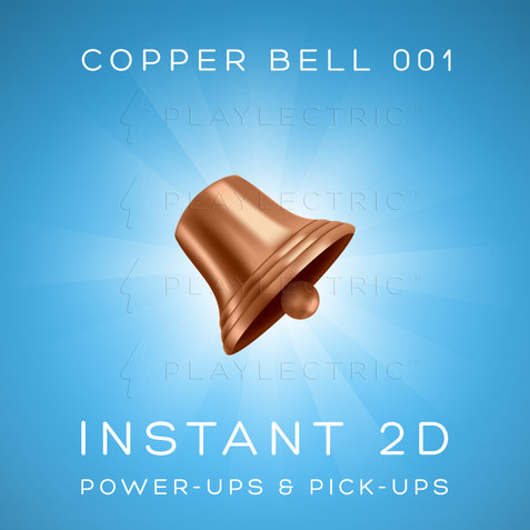 Instant 2D - Power-Ups & Pick-Ups - Glow - Copper Bell 001