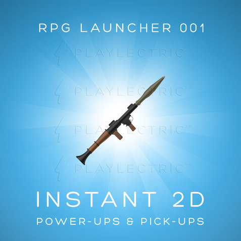 Instant 2D - Power-Ups & Pick-Ups - Glow - RPG Launcher 001