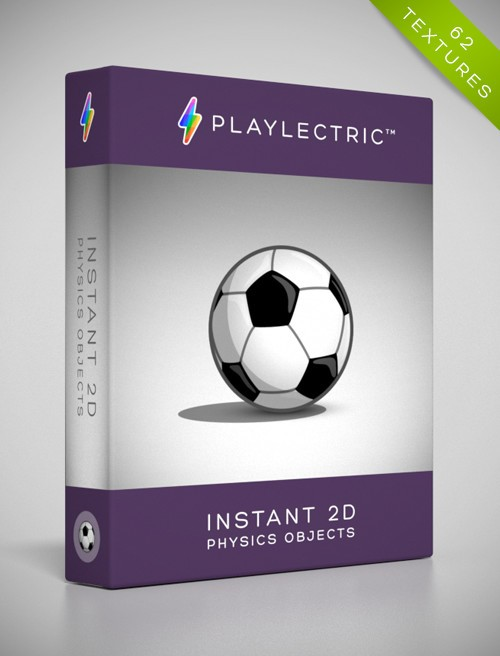 Instant 2D - PhysicsObjects by Playlectric: Lovingly handcrafted textures for your games.