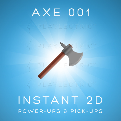 Instant 2D - Power-Ups & Pick-Ups - Glow - Axe 001