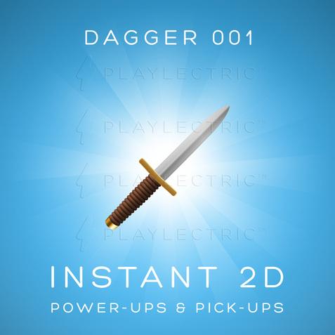 Instant 2D - Power-Ups & Pick-Ups - Glow - Dagger 001