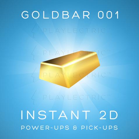 Instant 2D - Power-Ups & Pick-Ups - Glow - GoldBar 001