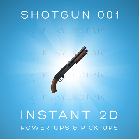 Instant 2D - Power-Ups & Pick-Ups - Glow - Shotgun 001
