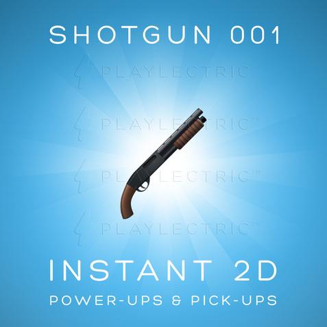 Instant 2D - Power-Ups & Pick-Ups - Glow - Shotgun 001