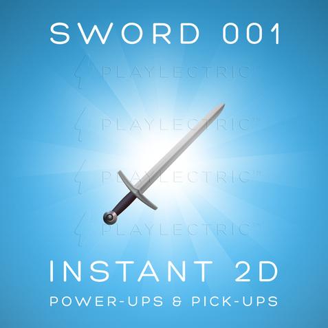 Instant 2D - Power-Ups & Pick-Ups - Glow - Sword 001