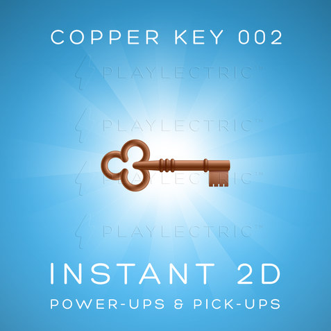 Instant 2D - Power-Ups & Pick-Ups - Glow - Copper Key 002