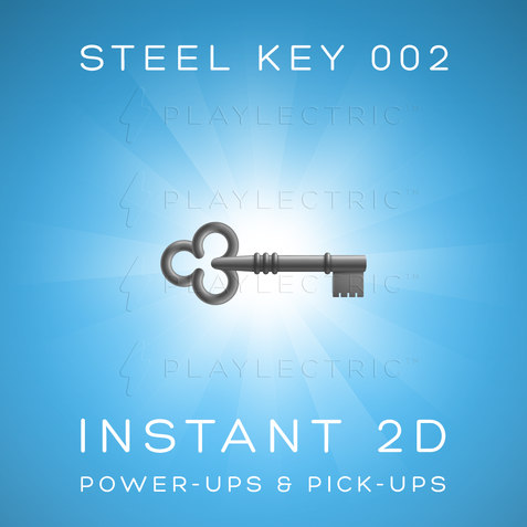 Instant 2D - Power-Ups & Pick-Ups - Glow - Steel Key 002