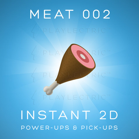 Instant 2D - Power-Ups & Pick-Ups - Glow - Meat 002