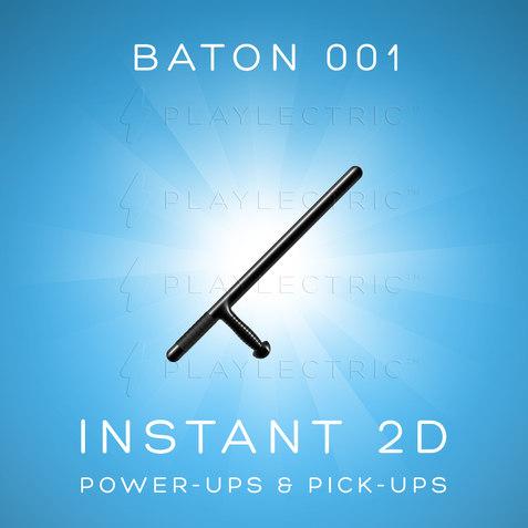 Instant 2D - Power-Ups & Pick-Ups - Glow - Baton 001