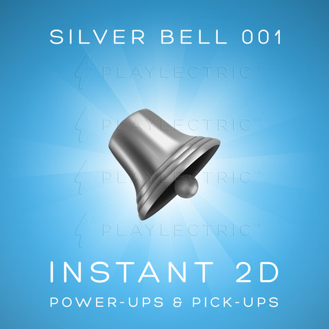 Instant 2D - Power-Ups & Pick-Ups - Glow - Silver Bell 001