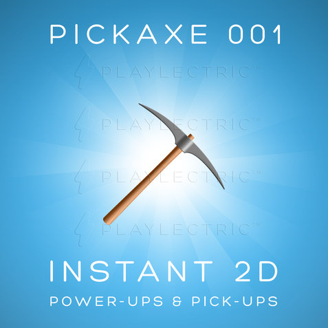 Instant 2D - Power-Ups & Pick-Ups - Glow - Pickaxe 001